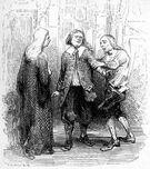 Molière Avare Auguste Trichon Celestin Nanteuil 1845