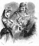 Molière Avare Horace Castelli Jeune Lacoste 1865