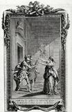 Corneille Horace Hubert-François Gravelot Jean-Jacques Flipart 1774