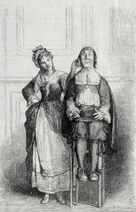 Molière 1673 Malade imaginaire G. Brion C. Perrichon