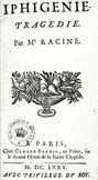Racine Iphigénie 1675