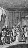 Molière Avare William Hogarth 1740