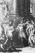 Racine Andromaque Chéron et gravées par Van der Gucht, C. Du Bosc et P. Fourdrinier 1723