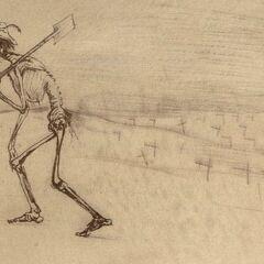 «Le squelette laboureur»