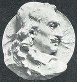 Corneille Médaillon de Puech