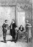 Molière Avare Adolphe Lalauze 1874