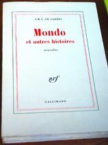 Le Clézio 1978 Mondo et autres histoires