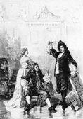 Molière Tartuffe Lalauze