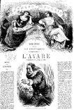 Molière Avare Panthéon populaire illustré Janet Lange 1864