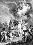 Racine Iphigénie Jacques de Sève Jean Jacques Flipart 1760
