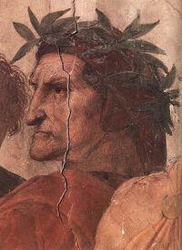 Dante Alighieri por Rafael