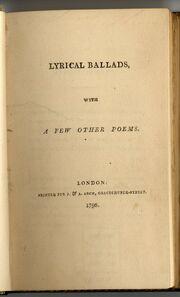 LyricalBallads
