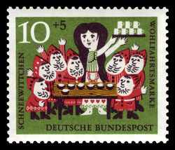 1962WestGermanSnowWhiteStamp