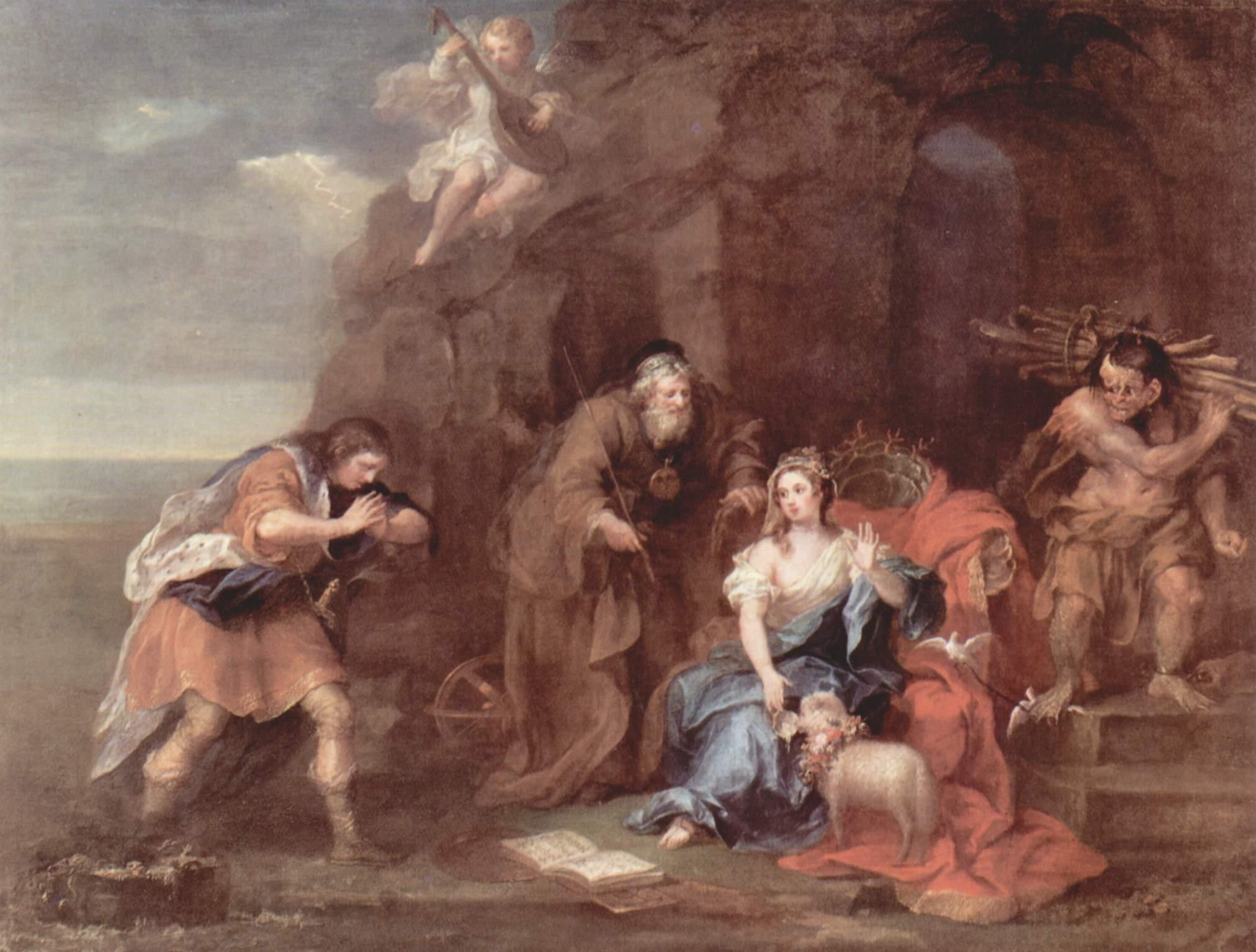 shakespeare tempest plot