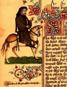 ChaucerOnHorse