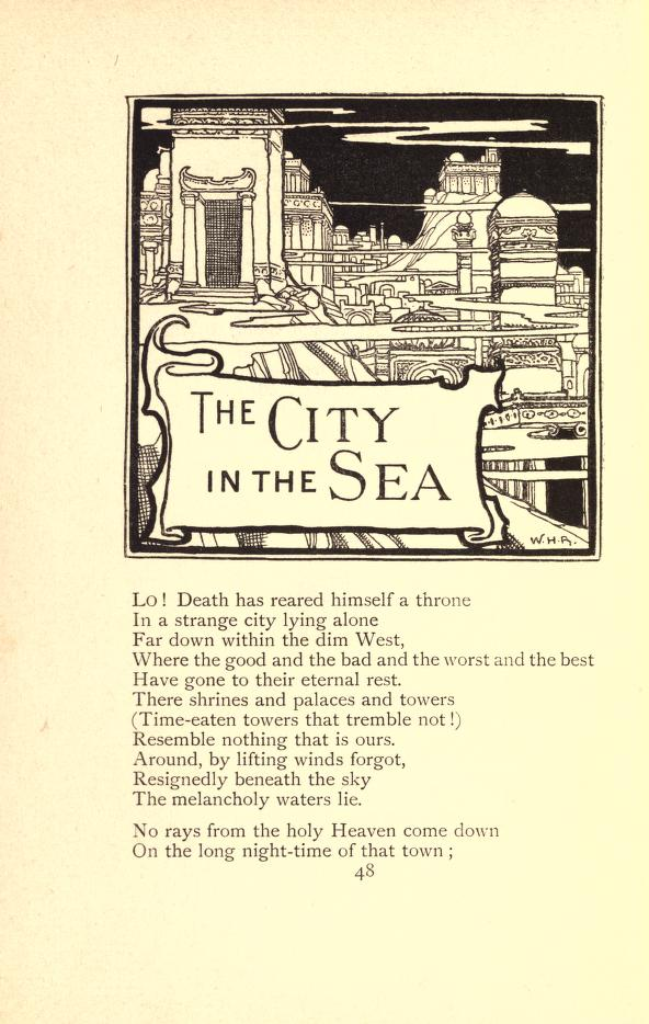 the city in the sea poem