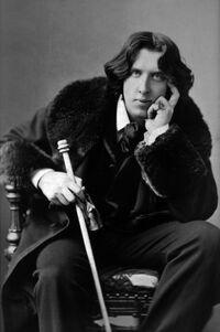 Retrato de Oscar Wilde