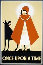 Little Red Riding Hood WPA poster