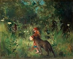 Little Red Riding Hood 1881