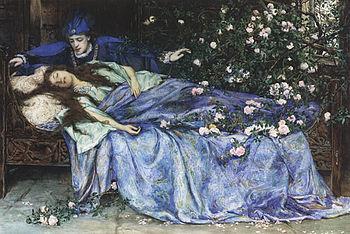 Henry Meynell Rheam - Sleeping Beauty