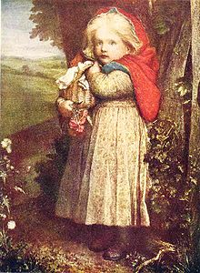 George Frederic Watts - Red Riding Hood - Project Gutenberg eText 17395