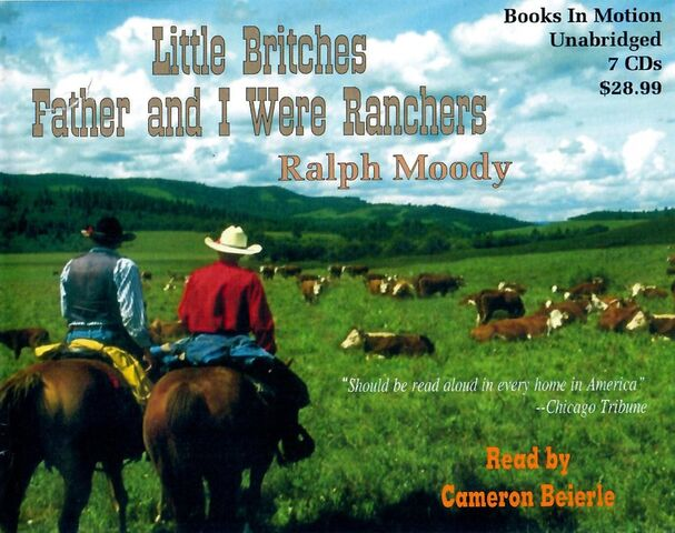 File:Father and I Were Ranchers audiobook cover.jpg