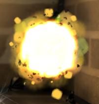 Взрыв батарейки