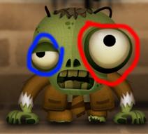 Зомби глаза