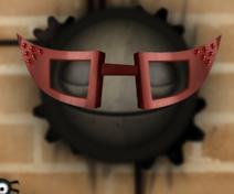 Очки на лице 2