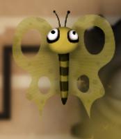 Компьютерный червь бабочка