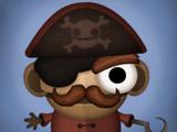 Игрушка-пират