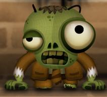 Зомби в камине