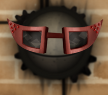 Очки на лице1