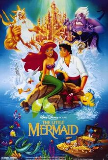 The Little Mermaid (1989) Poster
