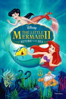 The Little Mermaid 2- Return to the Sea (2000) Poster