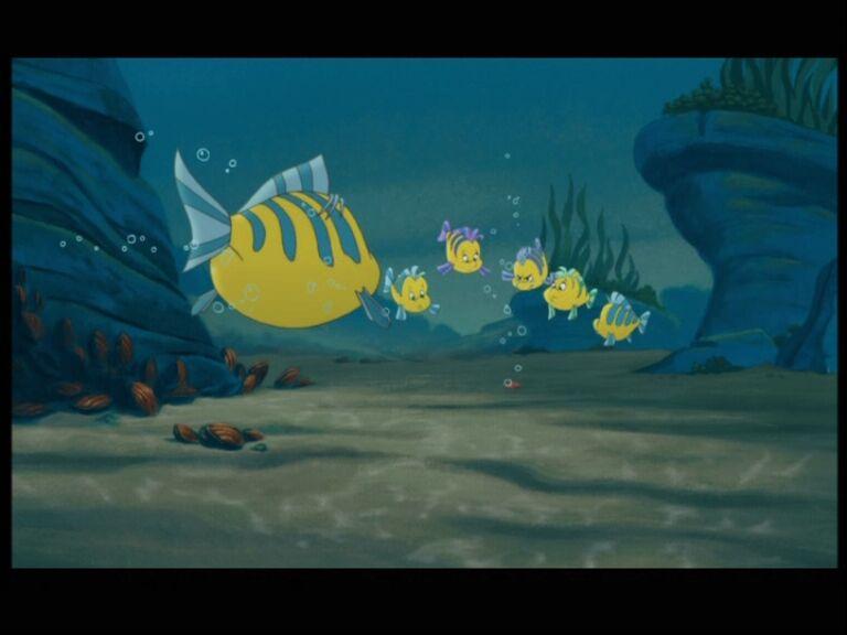 Disney Flounder Art