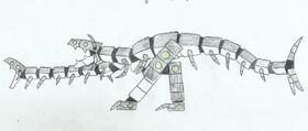 Theropod Centipede Clockbeast LWA CoT