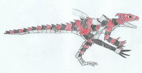 LWA Ragnarok Kasai Rex Armadillo Lizard