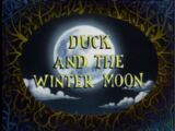 Duck and the Winter Moon