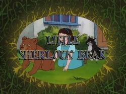 Little Sherlock Bear