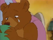 Little bear crying
