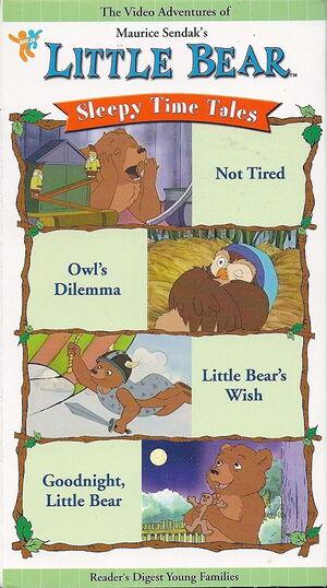 Sleepy Time Tales 2003 Reader's Digest VHS