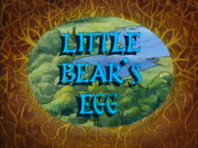 Little Bear's Egg