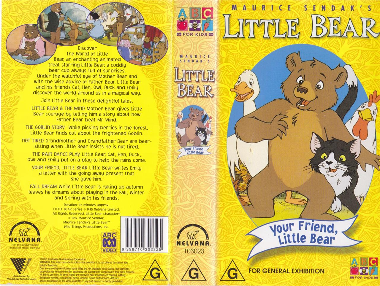category vhs releases little bear wiki fandom powered. Black Bedroom Furniture Sets. Home Design Ideas