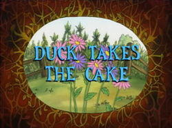 Duck Takes the Cake