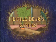 Little Bear's Garden