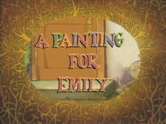 A Painting for Emily