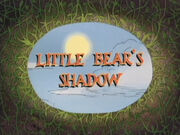 Little Bear's Shadow