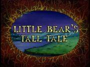 LittleBear'sTallTale