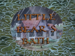 Little Bear's Bath